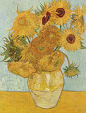 Sunflowers, 1888 by Van Gogh (120 Piece Wooden Jigsaw Puzzle)