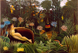 The Dream by Henri Rousseau (693 Piece Wooden Jigsaw Puzzle)