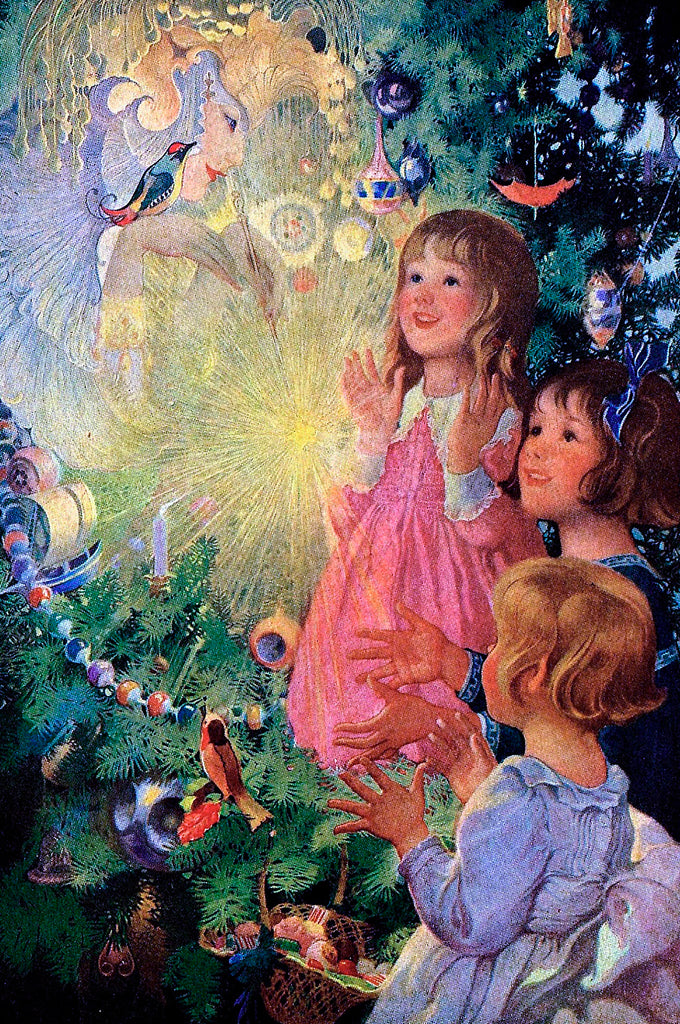 The Christmas Fairy (51 Pieces) Mini Wooden Jigsaw Puzzle