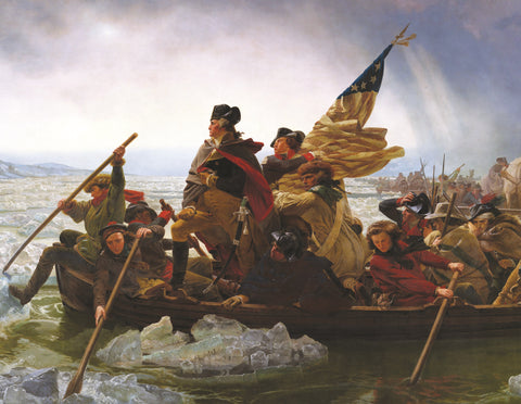 Washington Crossing the Delaware - 381 Piece Wooden Jigsaw Puzzle