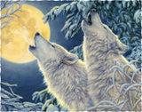 Wolf Moon - 391 Piece Wooden Jigsaw Puzzle