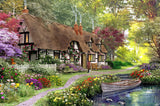 Woodland Walk Cottage (365 Piece Wooden Jigsaw Puzzle)
