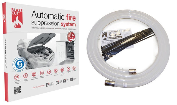 BLAZECUT T-Series Automatic Fire Suppression System 1 Metre - Vehicle