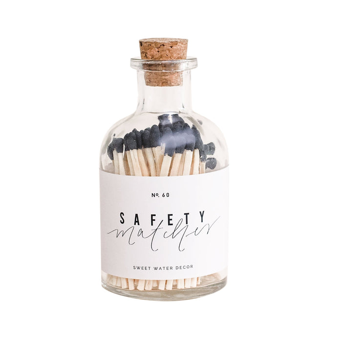 BLACK SAFETY MATCHES