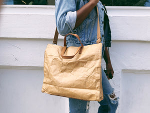 """Not A Trend"" Paper Bag Purse - GrungeVogue"