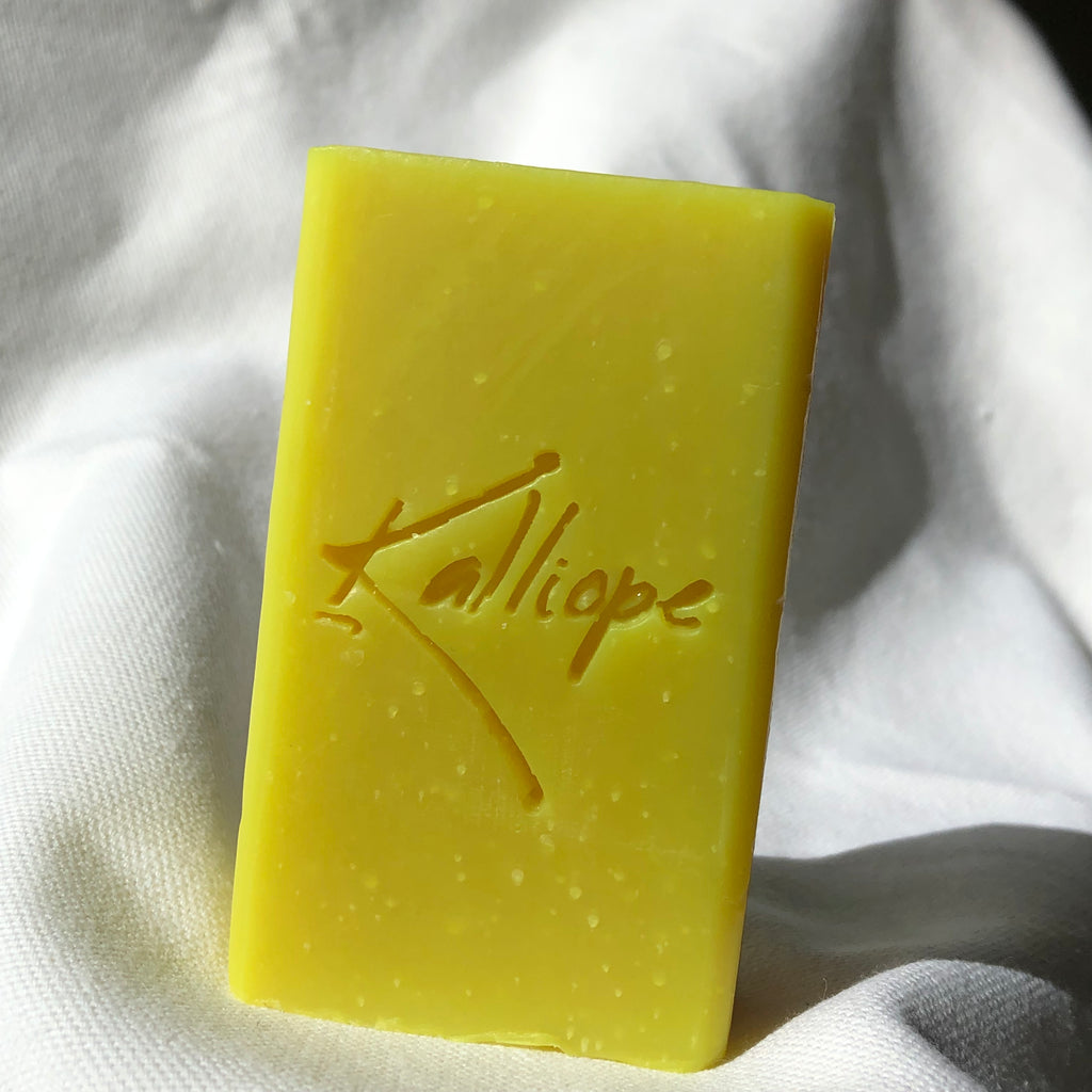 Addie handcrafted small batch soap with shea butter and a punch of citrus.