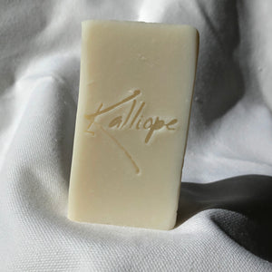 Zoe bar soap: no added scent or color