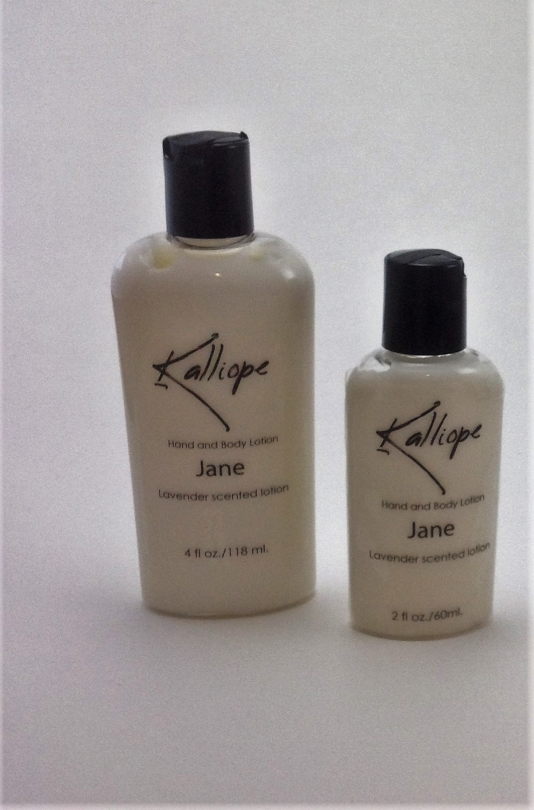 Jane lotion, moisturizing with the soft scent of lavender