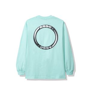 Anti Social Social Club Trofeo Mint Long Sleeve Tee