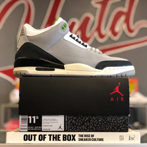 Air Jordan 3 Retro 'Chlorophyll' 136064 006
