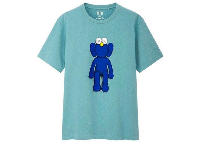 KAWS x Uniqlo Blue BFF Tee Green SS19