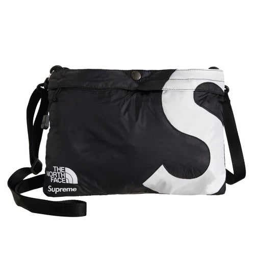 Supreme x The North Face S Logo Shoulder Bag Black FW20