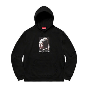 Supreme Pearl Hooded Sweatshirt Black FW20