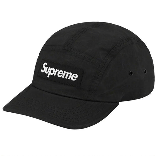 Supreme Dry Wax Cotton Camp Cap Black FW20