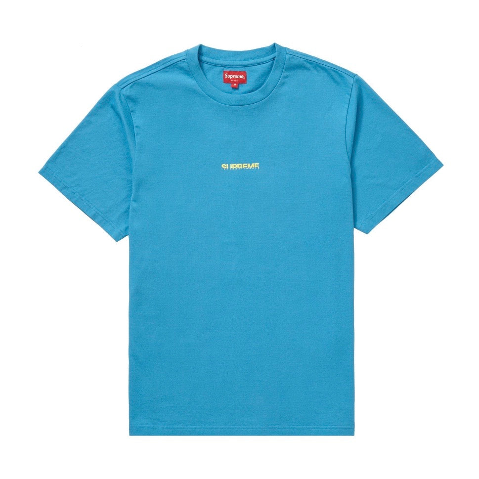 Supreme Internationale S/S Top Light Blue FW19
