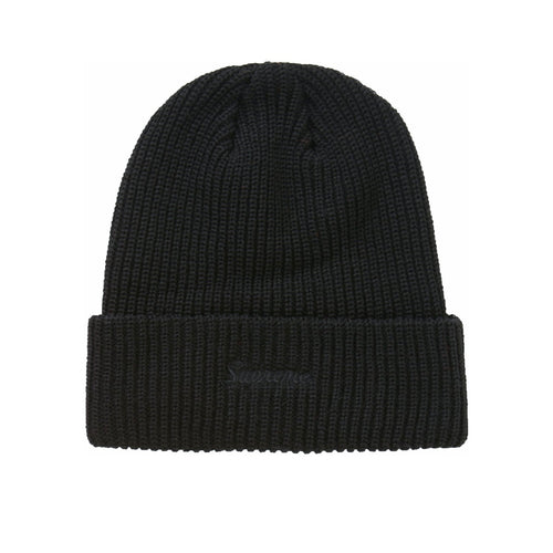 Supreme Loose Gauge Beanie Black FW20