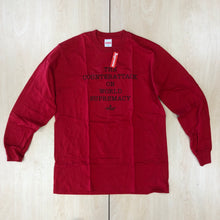 Load image into Gallery viewer, Supreme UNDERCOVER/Public Enemy Counterattack L/S Tee Red SS18