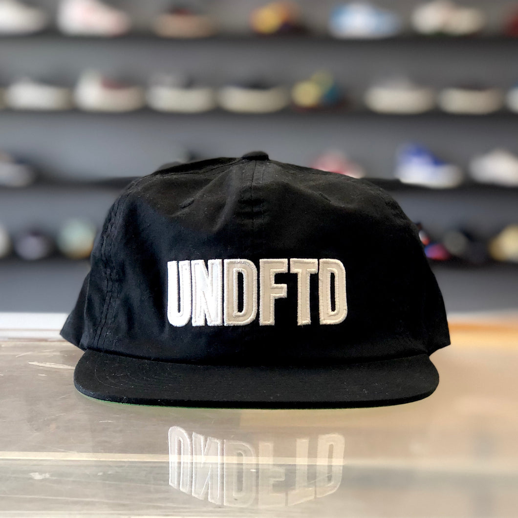 Undefeated Applique Strapback