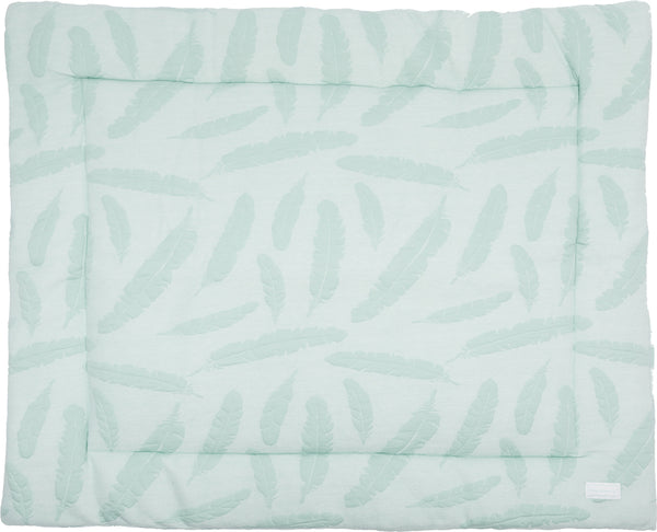 Boxkleed feather mint groen - Baby Anne-Cy