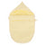 Voetenenzak herringbone soft yellow - Baby Anne-Cy