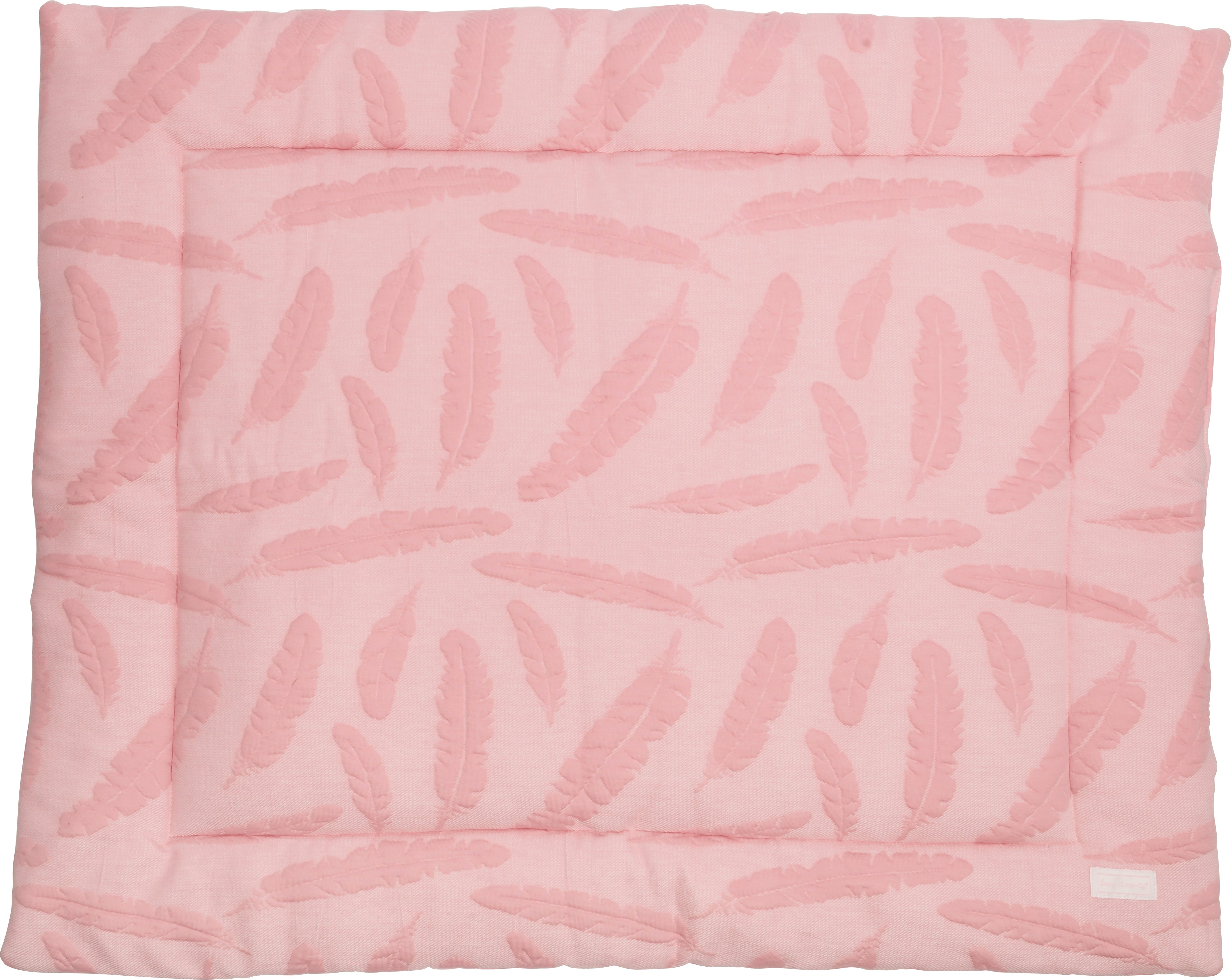 Boxkleed feather dusty pink (73-75 cm x 92-95 cm) - Baby Anne-Cy