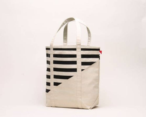 ShoreBags - Large Contemporary Boat Bag - Striped