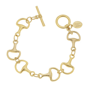 HORSE BIT TOGGLE BRACELET - MaisonBeach