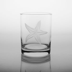 Starfish 14oz. Double Old Fashions-Set of 4 - MaisonBeach
