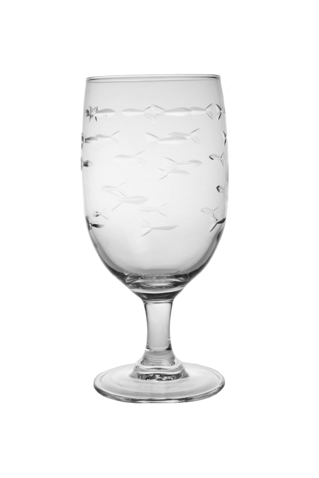 School of Fish Water Goblets-Set of 4 - MaisonBeach