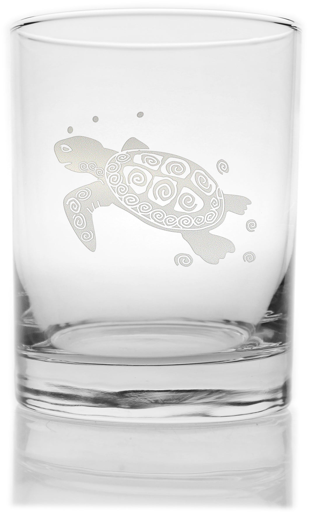 Sea Turtle Double Old Fashion -Set of 4 - MaisonBeach