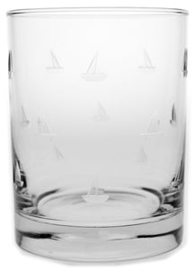 Sailing 14oz. Double Old Fashion-Set of 4 - MaisonBeach