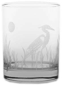 Heron Double Old Fashions-Set of 4 - MaisonBeach