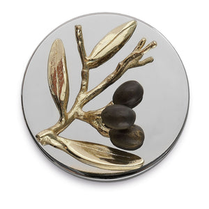 Olive Branch Gold Candle - MaisonBeach
