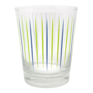 The Modern Home Bar - Pick Me Blue/Green Double Old Fashioned Glass