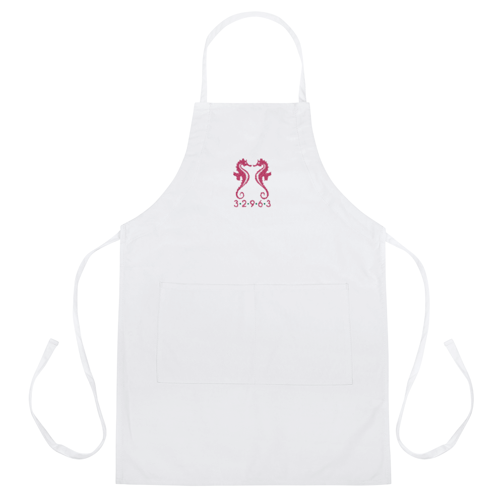 32963 Embroidered Apron - MaisonBeach