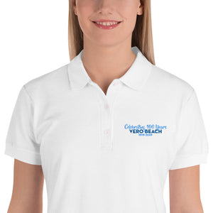 Vero Beach Embroidered Women's Polo Shirt - MaisonBeach