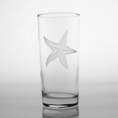 Starfish 15oz. Highballs-Set of 4 - MaisonBeach