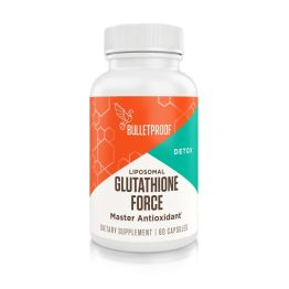 BULLETPROOF Glutathione Force  back in stock! New 5x the potency liposomal formula