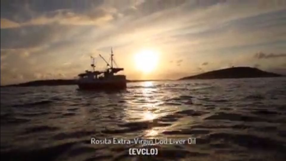 Rosita Cod Liver Oil Video - Norways Finest Cod Liver Oil