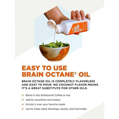 Bulletproof Brain Octane Oil 473ML