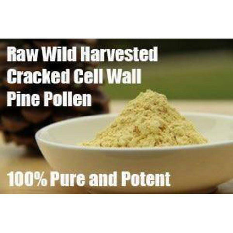 Image of Pine Pollen Powder Cracked Cell Wall