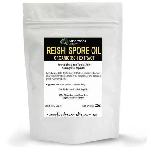 Image of Reishi Mushroom Spore Oil Softgels