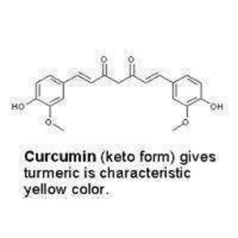 Image of Curcumin Extract 95% 100 Capsules - High Quality Extract