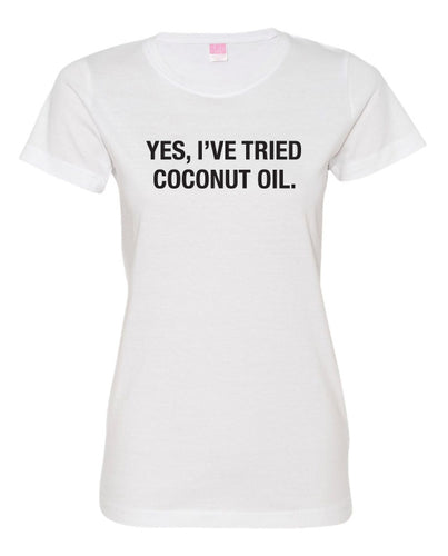 COCONUT OIL S/S TEE - WOMEN'S