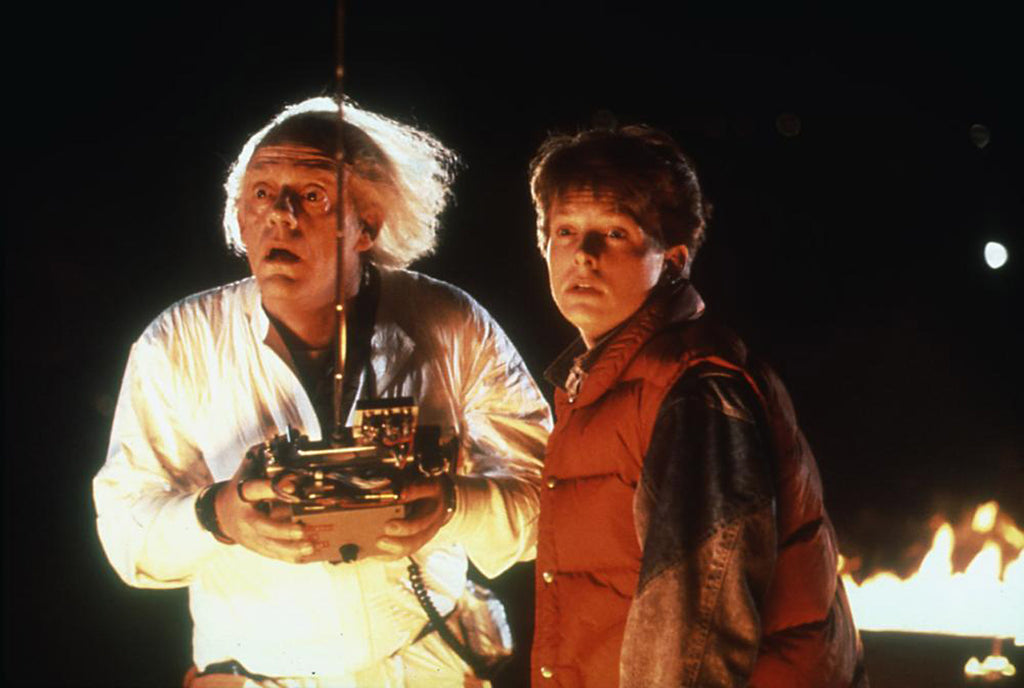 Back To The Future et Les aventuriers du timbre perdu