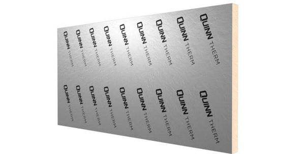 Quinn Therm 2400mm x 1200mm x 25mm + 12.5mm Insulated Plasterboard