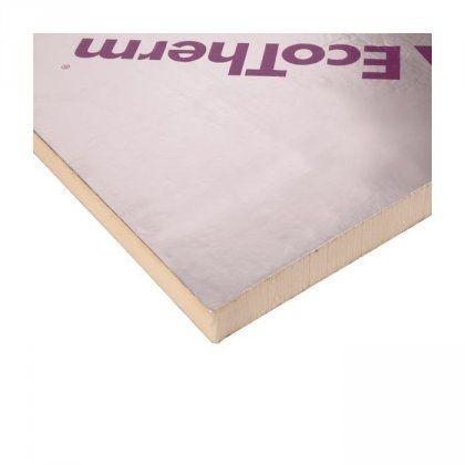 Ecotherm Eco-Versal PIR Insulation 1200 x 2400 x 120mm