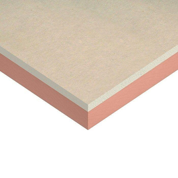 Kingspan Kooltherm K118 Insulated Plasterboard 1200mm x 2400mm 52.5mm - 40mm+12.5mm (Pack of 15 boards)