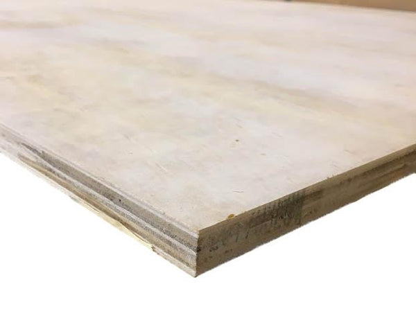 18mm 1220mm x 2440mm EN636 Grade 2 CE2+ Softwood Ply