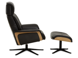 Space SP 5400 Recliner Chair & Ottoman by IMG Comfort